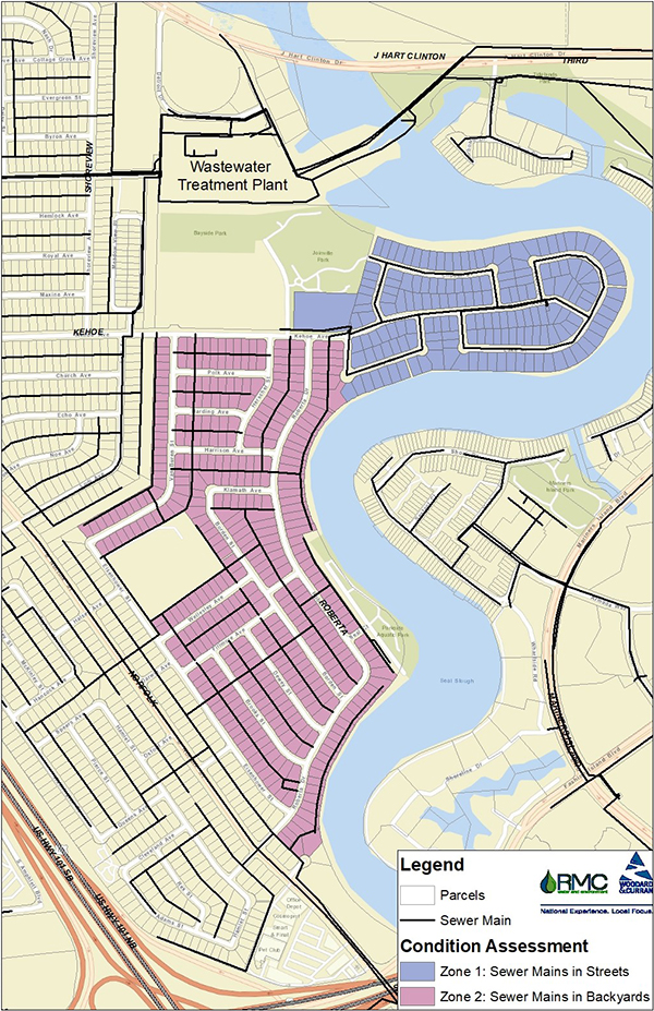 CWP Sewer Main Condition Assessment Map