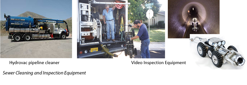 Sewer Cleaning and Inspection Equipment