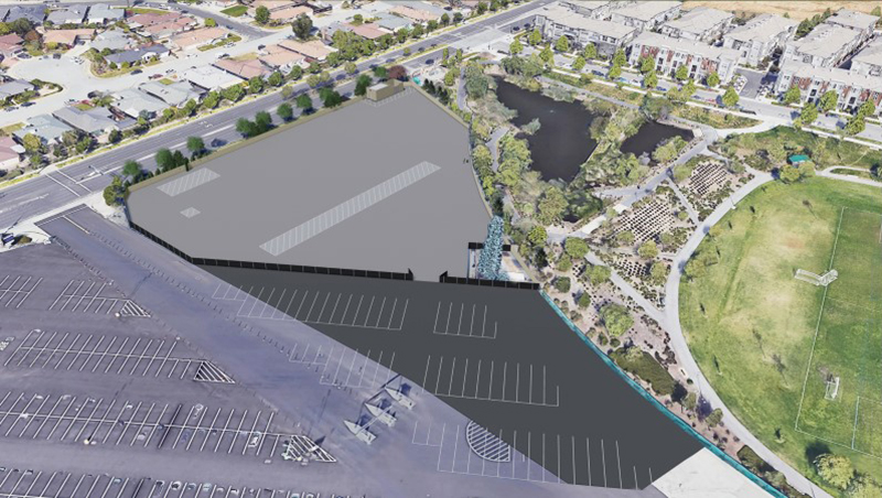 Representation of Phase 6 Finished Site