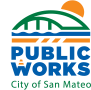 City of San Mateo Public Works Logo