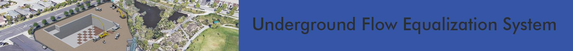 Underground Flow Equalization System