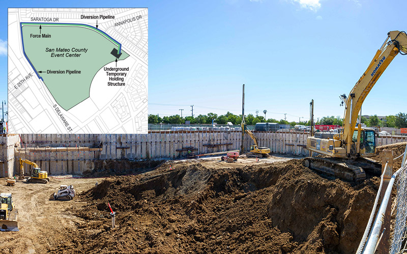 Image of UFES construction.